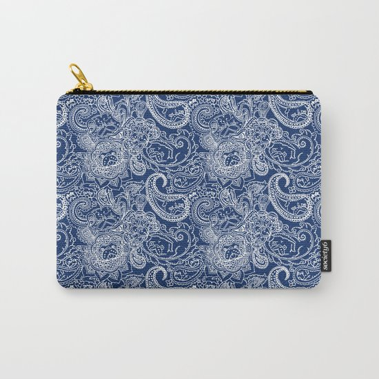 Paisley Pug Carry-All Pouch