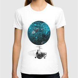 walk in space T-shirt