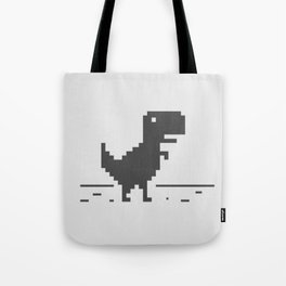 Google Chrome's Dino Tote Bag