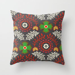 BOHEMIAN FARMHOUSE DARK Throw Pillow
