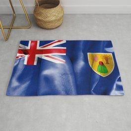 Turks and Caicos Islands Flag Rug