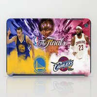 basketball iPad Cases featuring Basketball  by RickART