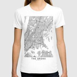 The Bronx White Map T-shirt