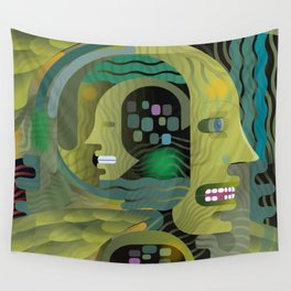 Race Against Time Wall Tapestry