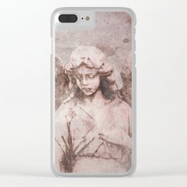 A Guardian Angel, To Watch Over Us A322b Clear iPhone Case