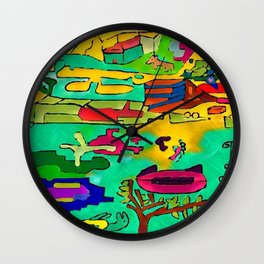 The repent one upside-down Wall Clock