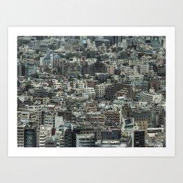 Tokyo 545 Art Print