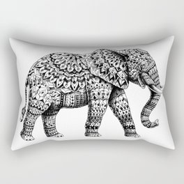 Ornate Elephant 3.0 Rectangular Pillow