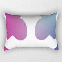 Marshmello - Galaxy Color Rectangular Pillow
