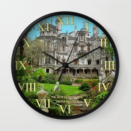 008 Palace of Regaleira Sintra Portugal Wall Clock