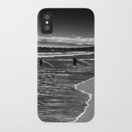 Surfers in Black iPhone Case