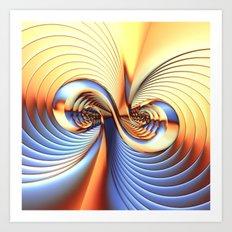 Curvitude Art Print