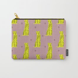 Cheetah Groove Carry-All Pouch