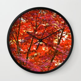 Seeing Red? Wall Clock