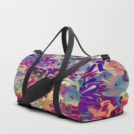 Confetti Primary Colors Duffle Bag