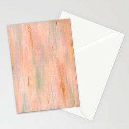 Desert Sunset in Acrylic v.3 Stationery Cards