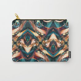 Colorful Abstract Collage Carry-All Pouch