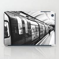 subway iPad Cases featuring SUBWAY by MarianaManina