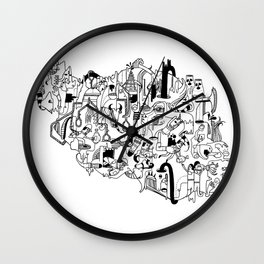 IRAN Wall Clock