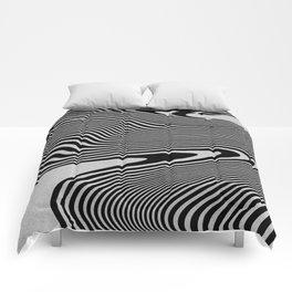 liquify line Comforters