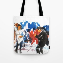 Pulp Fiction dance Tote Bag