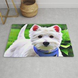 West Highland Terrier Rug