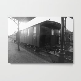 Old train wagon Metal Print