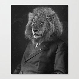 Leo The Lion Man Canvas Print