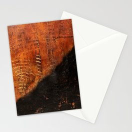 Sandias (Rust Abstract) Stationery Cards