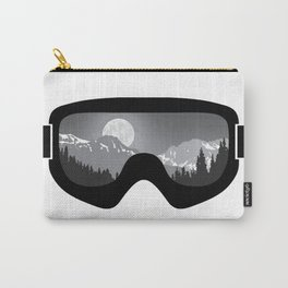 Moonrise Goggles - B+W - Black Frame | Goggle Designs | DopeyArt Carry-All Pouch