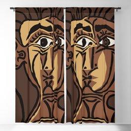 Pablo Picasso, Tete de Femme (Head Of A Woman) 1962 Artwork Reproduction Blackout Curtain