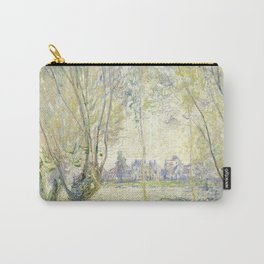 Woman Seated under the Willows Carry-All Pouch