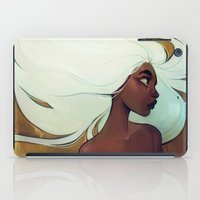 men iPad Cases featuring glow in the dark by loish