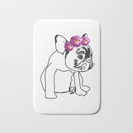 French Bulldog Puppy Bath Mat
