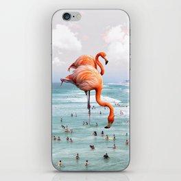 beaching around. iPhone Skin