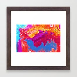Hex II Framed Art Print