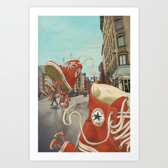 Runaways Art Print