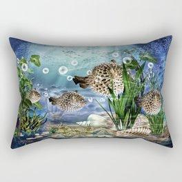 Kugelfische Rectangular Pillow