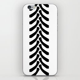 Tractor Tyre Tread Marks iPhone Skin