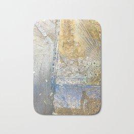 Aqua Metallic Wet Bath Mat