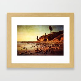Where the awareness of existence is immensely heightened Framed Art Print