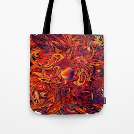 Holographic Boom Tote Bag