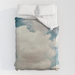 January Clouds Duvet Cover
