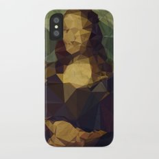 Creased Lisa iPhone X Slim Case