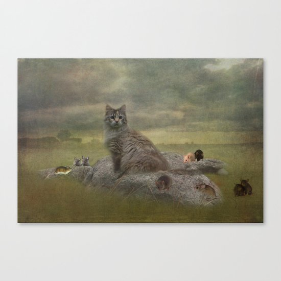The Mouser Canvas Print