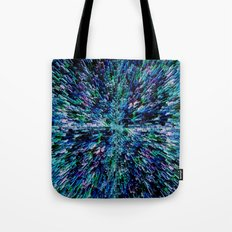 Black Ice (for other colors, see Starburst and Metropolis) Tote Bag