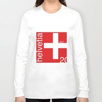switzerland Long Sleeve T-shirts featuring Switzerland stamp  by Little Parcels Shop