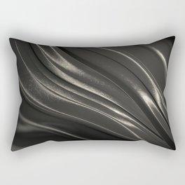Black Steel Rectangular Pillow