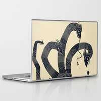 hydra Laptop & iPad Skins featuring hydra(dark) by Louis Roskosch