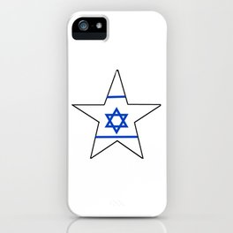 flag of israel 10-יִשְׂרָאֵל ,israeli,Herzl,Jerusalem,Hebrew,Judaism,jew,David,Salomon. iPhone Case